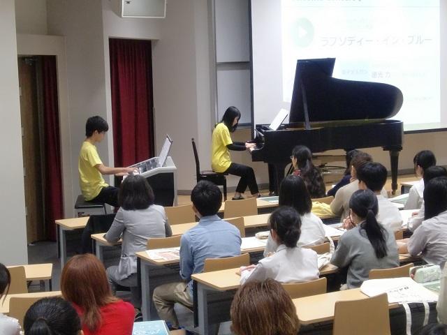 芸術表現学科2年生と専攻科生によるWelcome演奏