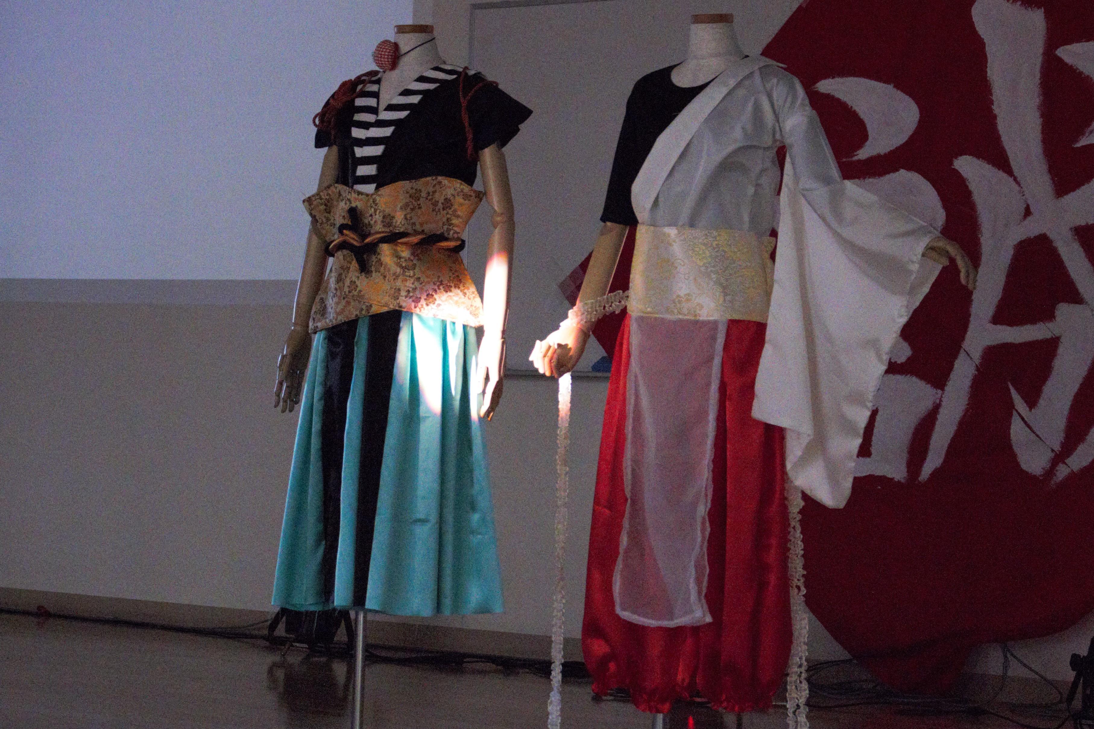 舞台衣装:太鼓班やよさこい班が衣装を着た姿を早く見てみたいです。