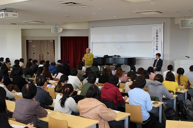 青島広志先生(左)と小野勉先生(右)