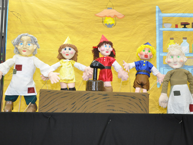 人形劇『小人と靴屋』