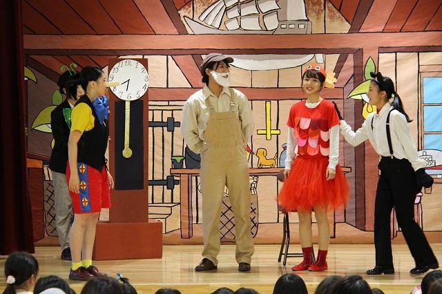 劇表現『ピノキオ』