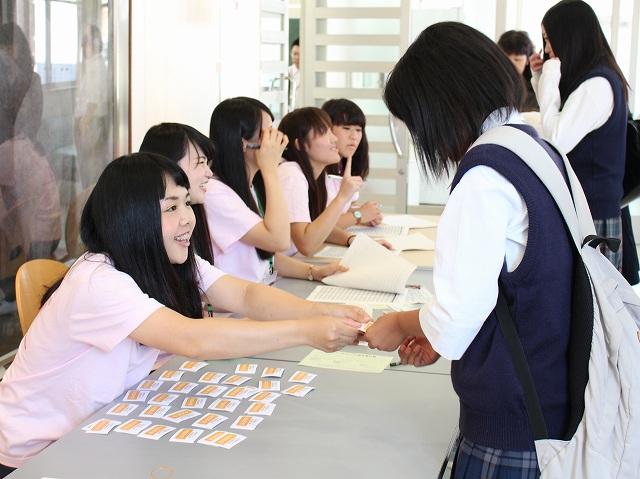 たくさんの高校生が参加してくれました